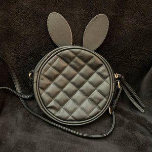 ASOS Black Bunny Ear Crossbody Bag